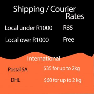 Shipping / Courier rates for your interest