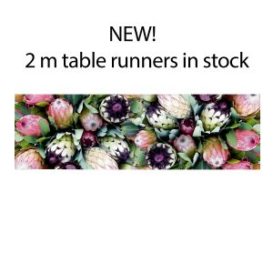 Table Runners longer sizes on request